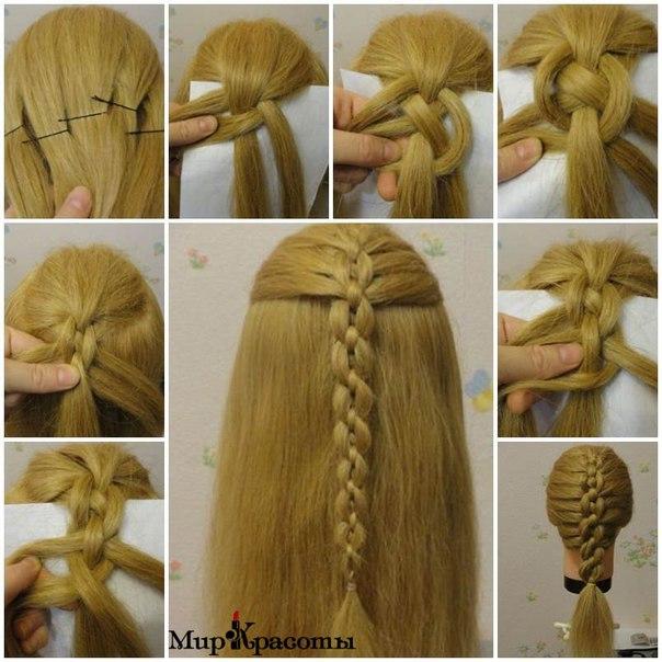 2 bonitos peinados cadena paso a paso - Peinados bonitos paso a paso ...