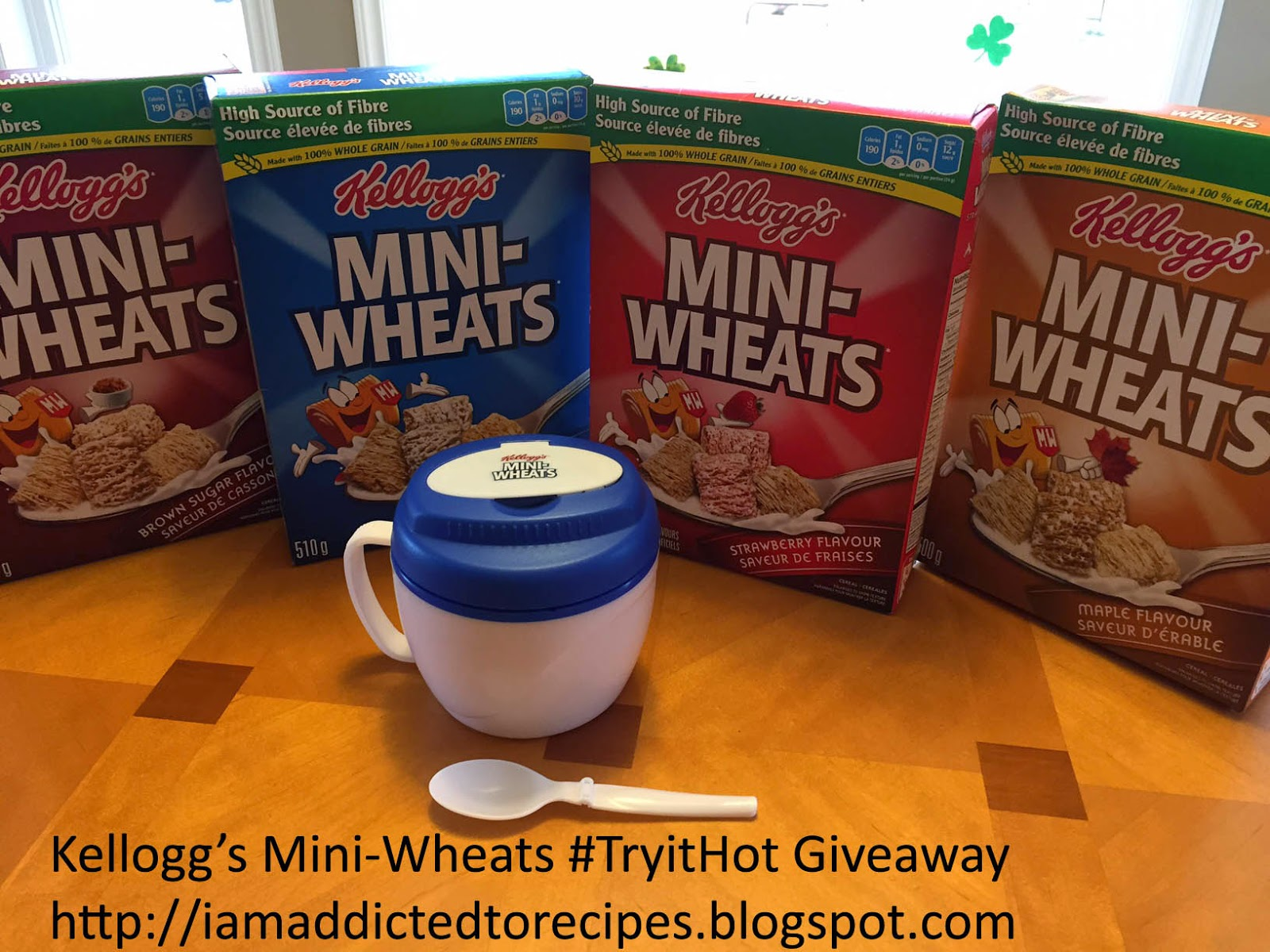 Kellogg's Mini-Wheats #TryitHot Giveaway | Addicted to Recipes