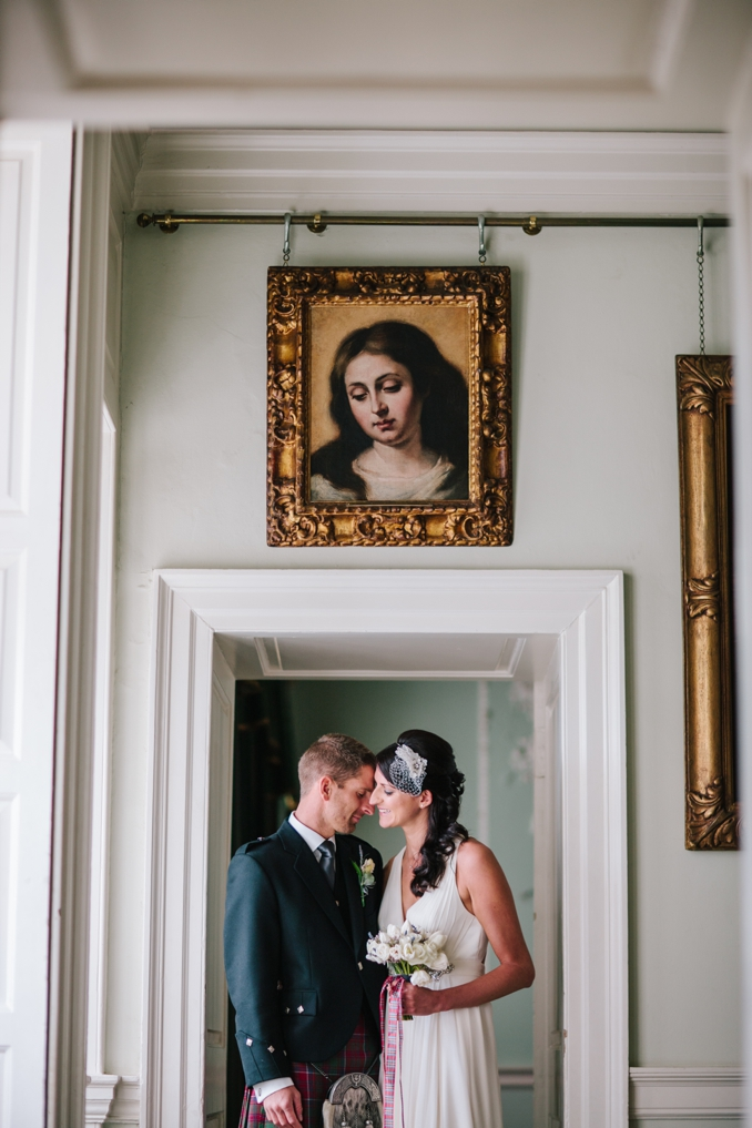 Tamsin and Grant's Pollok House wedding by STUDIO 1208