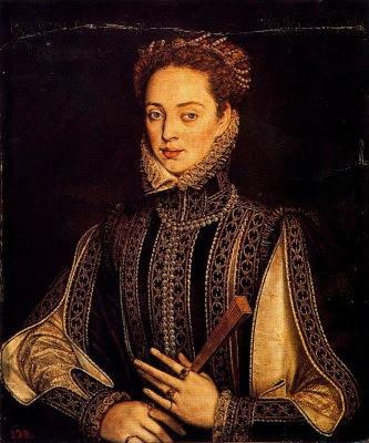 La dama de l'ermini (Alonso Sánchez Coello)