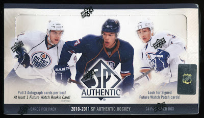 2010-11 SP Authentic Box Break #1