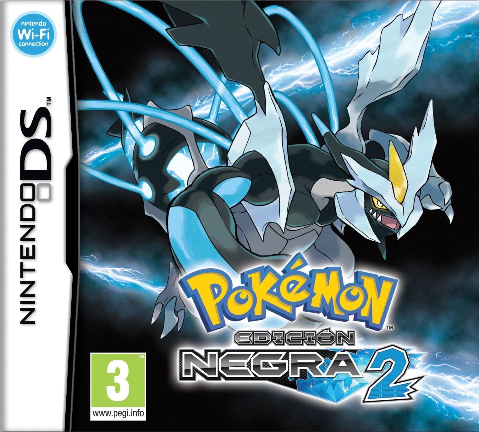 Carátula Pokémon Negro 2