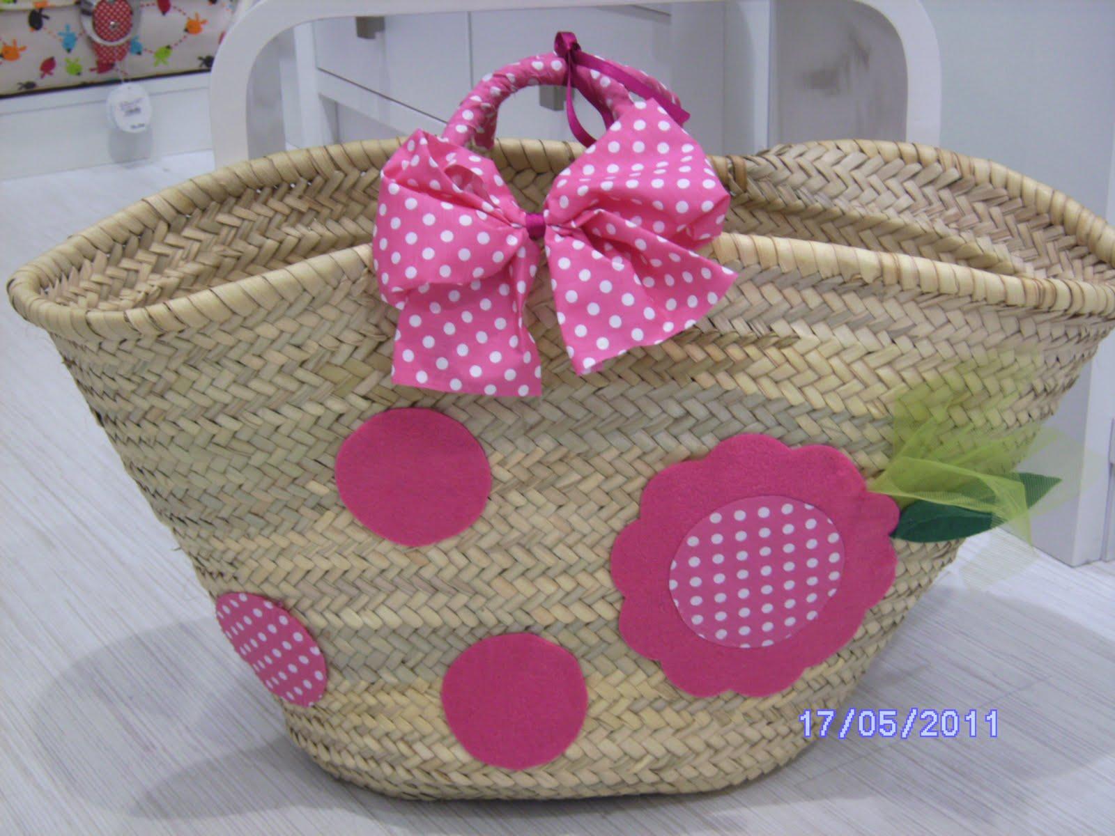 Caramelo s cestas de playa - Cestas de playa personalizadas ...