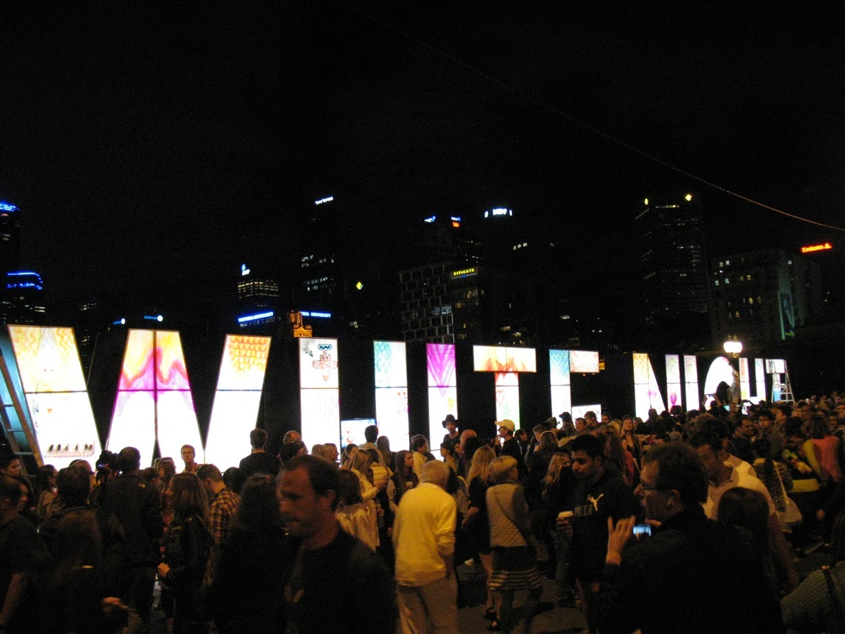 Late night date night in Melbourne