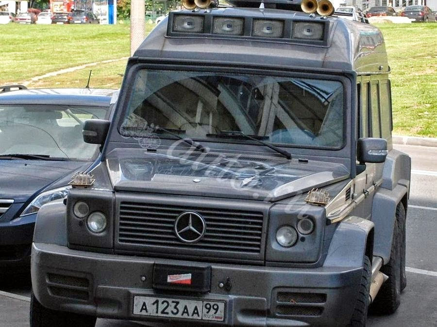 Mercedes benz gelandewagen 6x6 from moscow benztuning for Mercedes benz gelandewagen
