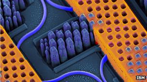 IBM mengembangkan chip optik untuk meningkatkan kecepatan server dan pusat data