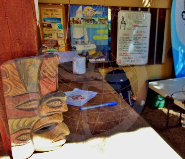 Detalle del Chocolate Hotel, Tamarindo