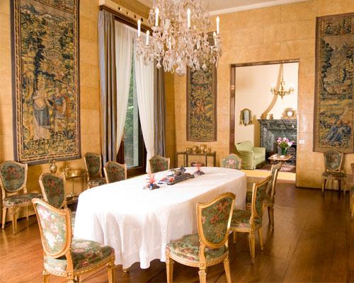 Antonio laviano guida d 39 arte a milano villa necchi for Sala da pranzo versace