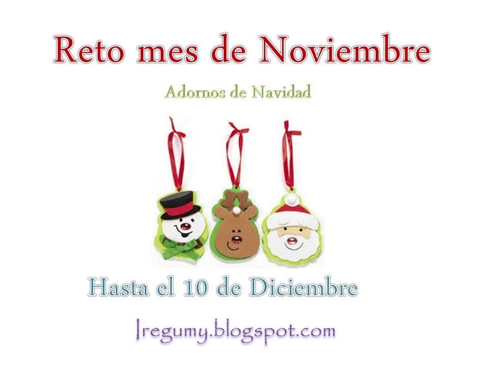 Reto  Adornos Navidad