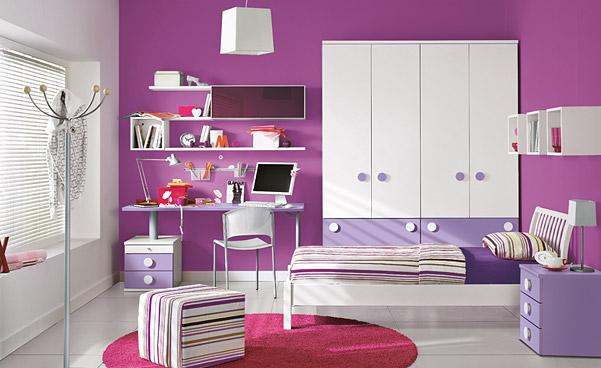 decoration chambre jeune fille a la mode juillet id es d co pour maison moderne - Chambre Ado Fille Moderne Violet