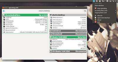 Syncthing GTK 0.6