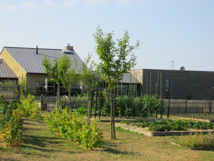 Yves Rocher Blogger Event - Kräutergarten des Chefkochs im Restaurant  Les Jardins Sauvages La Gree des Landes