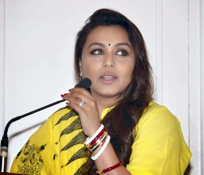 Rani Mukherjee at Launch of Initiative Give Way for Ambulance Event