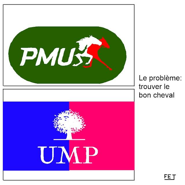 PMU UMP des chiffres et des lettres