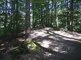 """""""Grab der Seherin"""" im Hügelgräberfeld beim stillgelegten Bahnhof Mühltal"""
