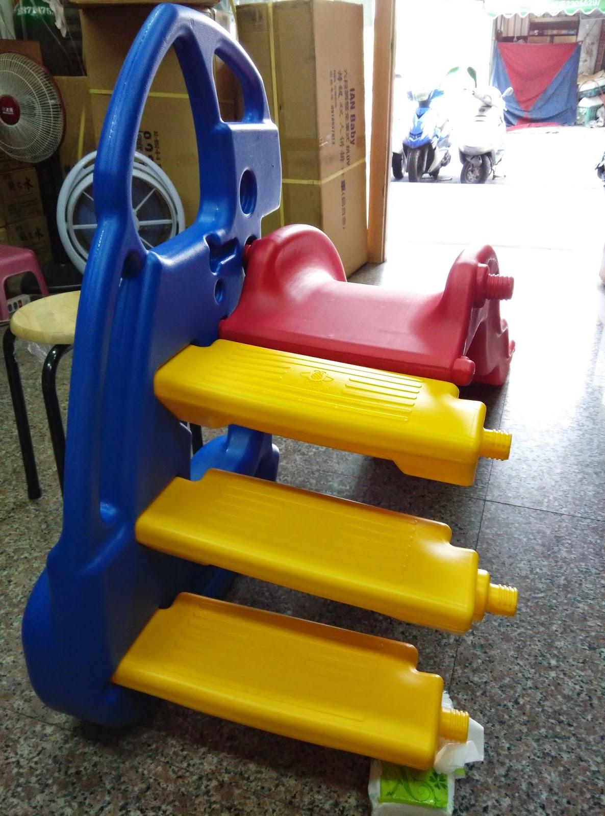 大象滑梯 一公一母 安裝超簡易2