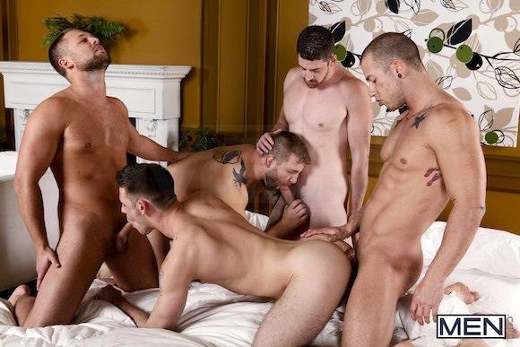 Русское гей порно видео групповое