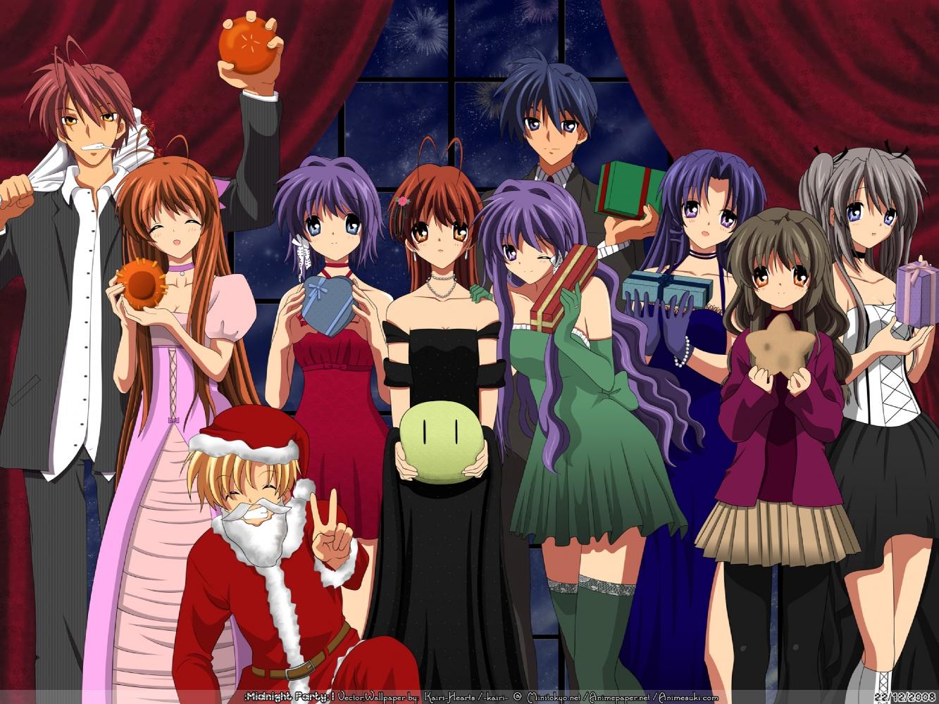 Tu top 10 anime/manga Clannad-crhistmas
