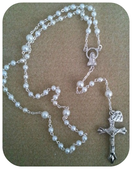 how to make fondant rosary beads