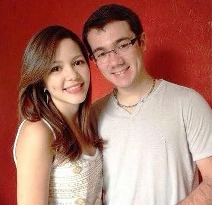 O casal Quézia Carvalho e Gustavo Morais utiliza aplicativos para namorar à distância
