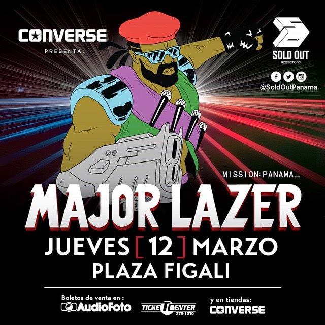 Major Lazer en Panama.