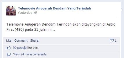 Drama Anugerah Dendam Yang Terindah