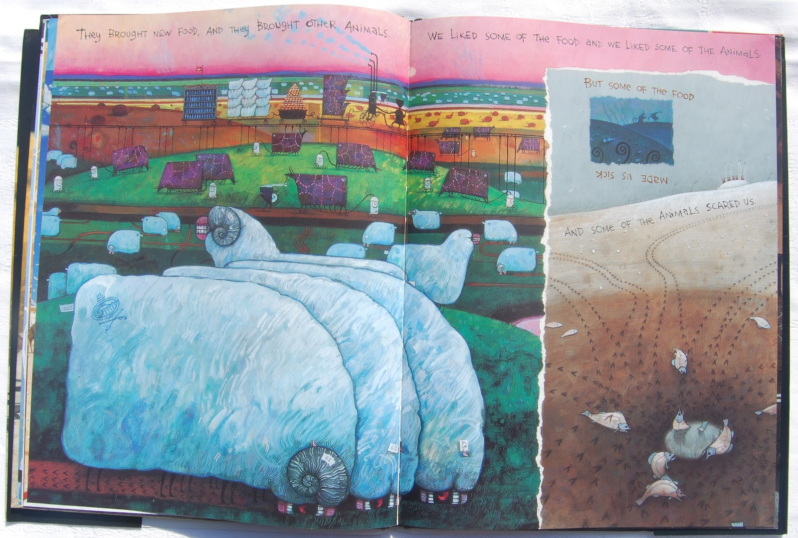 the rabbits Summary: in this lesson students will read the text 'the rabbits' written by john marsden and then analyse the very detailed illustrations by shaun tan 'the rabbits' follows the story of the european settlement in australia but uses rabbits representing the europeans and possums representing the aboriginals.