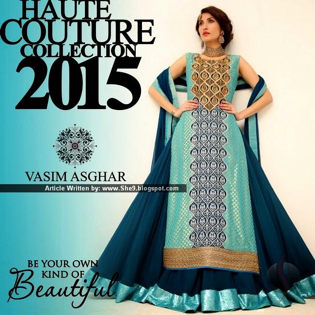 Vasim Asghar Haute Couture 2015 Collection
