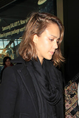 Jessica Alba Medium Bob Hairstyles
