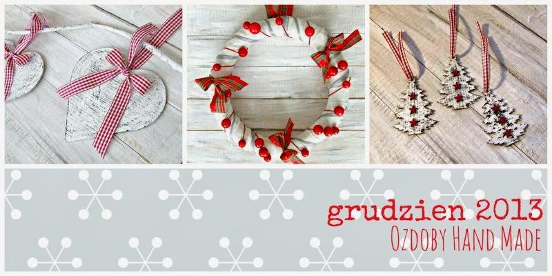 Blog decoupage świateczne ozdoby i dekoracje hand made 2013 Eco Manufaktura