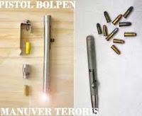 pistol bolpen | senjata api berbentuk pulpen