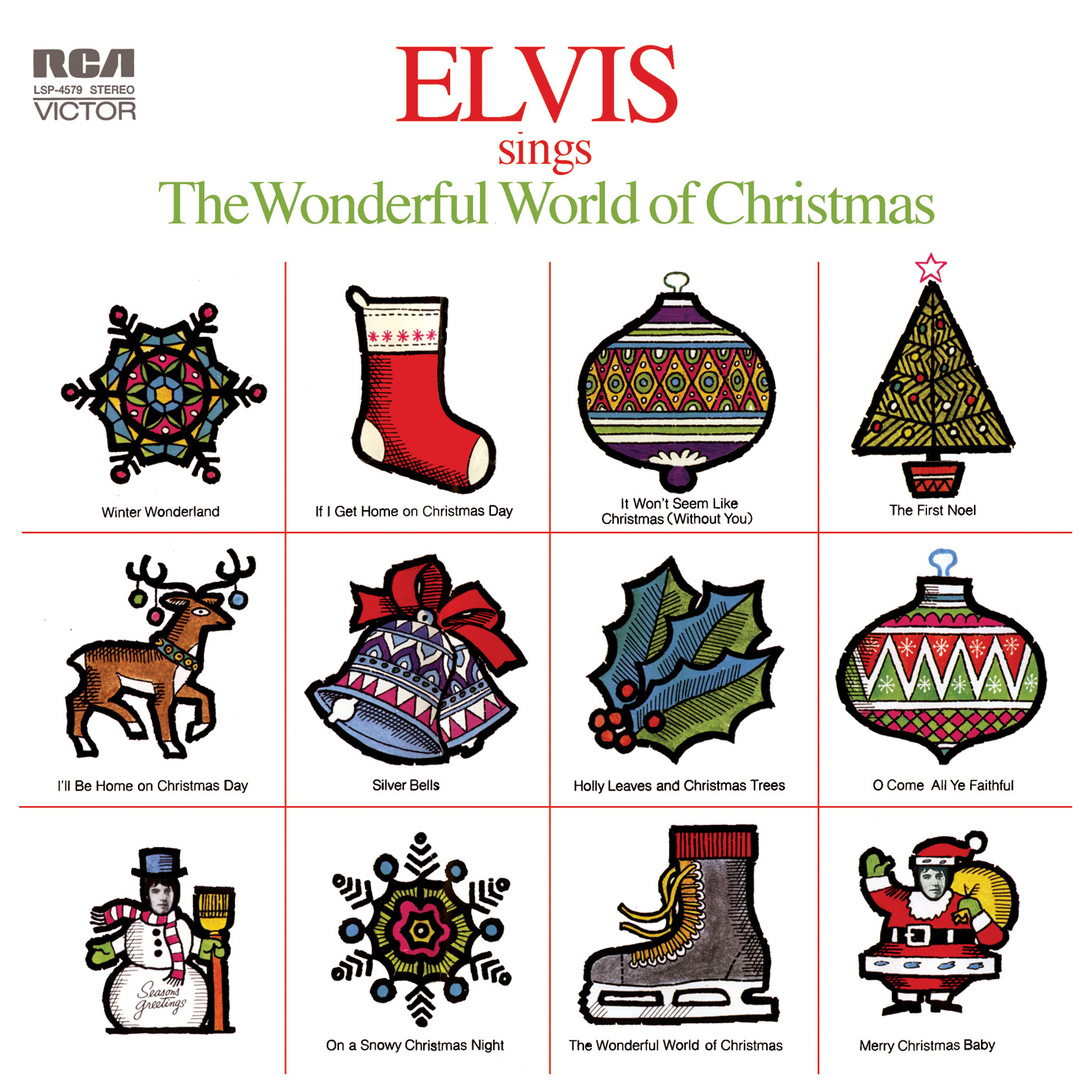 Elvis Today: Elvis Sings The Wonderful World Of Christmas - A Review