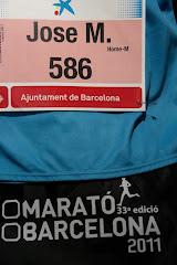 Maratón Barcelona (Marzo 2011)