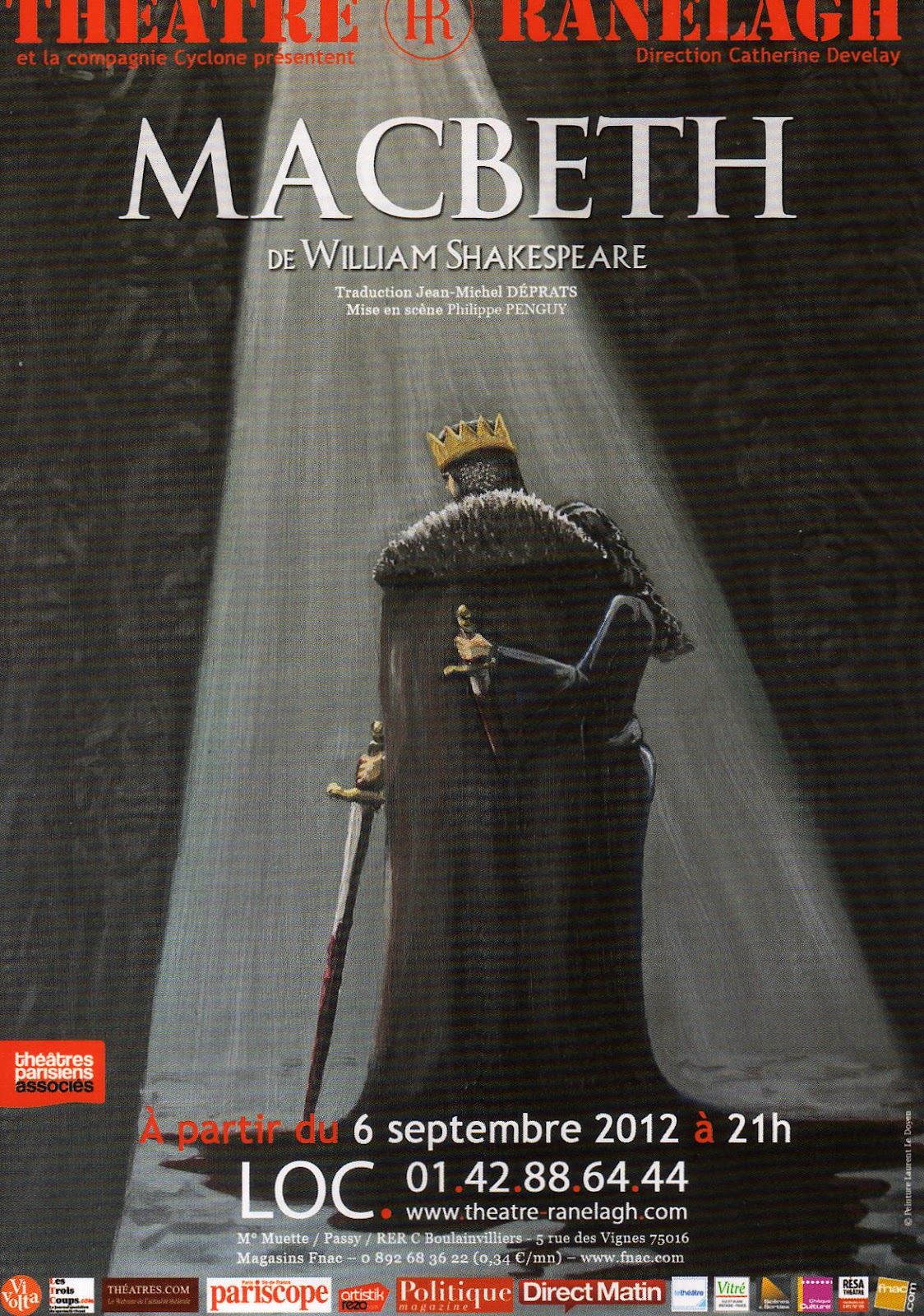 a critique of william shakespeares macbeth While william shakespeare's reputation is based primarily on his plays, he became famous first as a poet with the partial exception of the sonnets (1609), quarried.