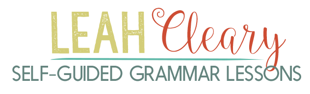 Self Guided Grammar Lessons