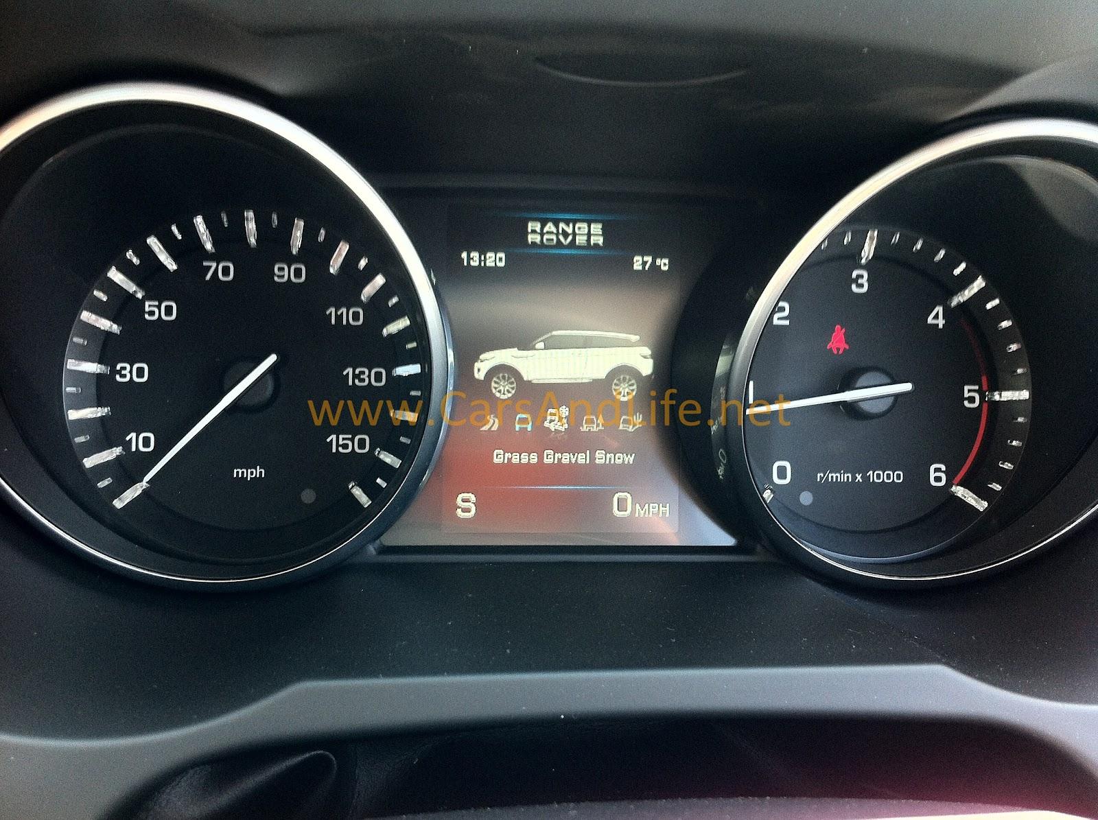 Range Rover Evoque: New Photos - cars & life | cars fashion ...