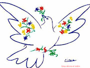 DIA DE LA PAZ pegatina paloma dia de la paz