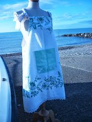 My Apron Dresses are for sale or come to a workshop and make your own.