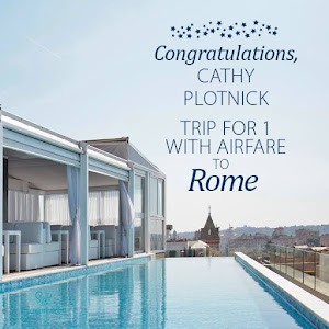 I'm going to Rome!