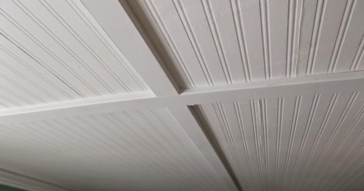 Vinyl Beadboard Ceiling Home Depot