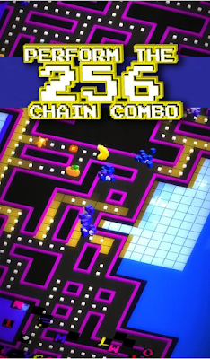 Pac-Man-256-Modern-Slick-Version-Of-CLassic-iOS-Android-Game-Screenshot