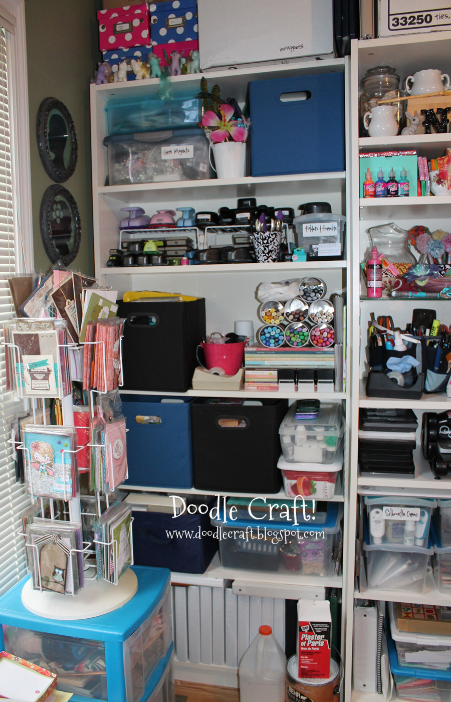 Doodlecraft craft room organization for Room organization