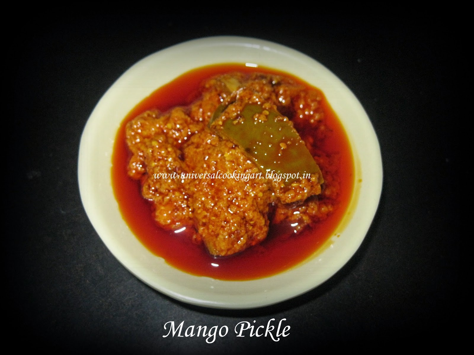 DRY MANGO PICKLE