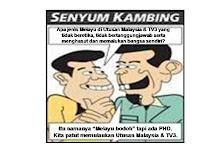 Senyum Kambing - Melayu Bodoh
