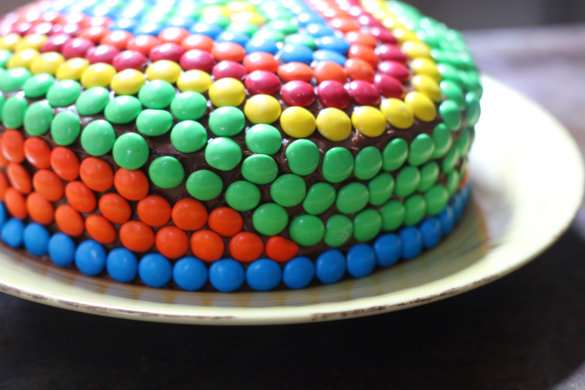 Pics for m and m cake ideas for M m cake decoration