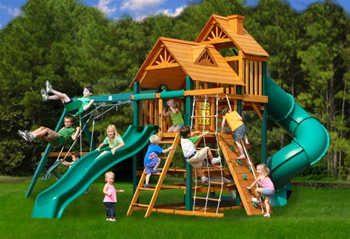 Offering Outdoor Home Entertainment For Kids Is Streamlined With The  Addition Of Backyard Playsets. The Concept Behind These Kinds Of Outdoor  Components Is ...