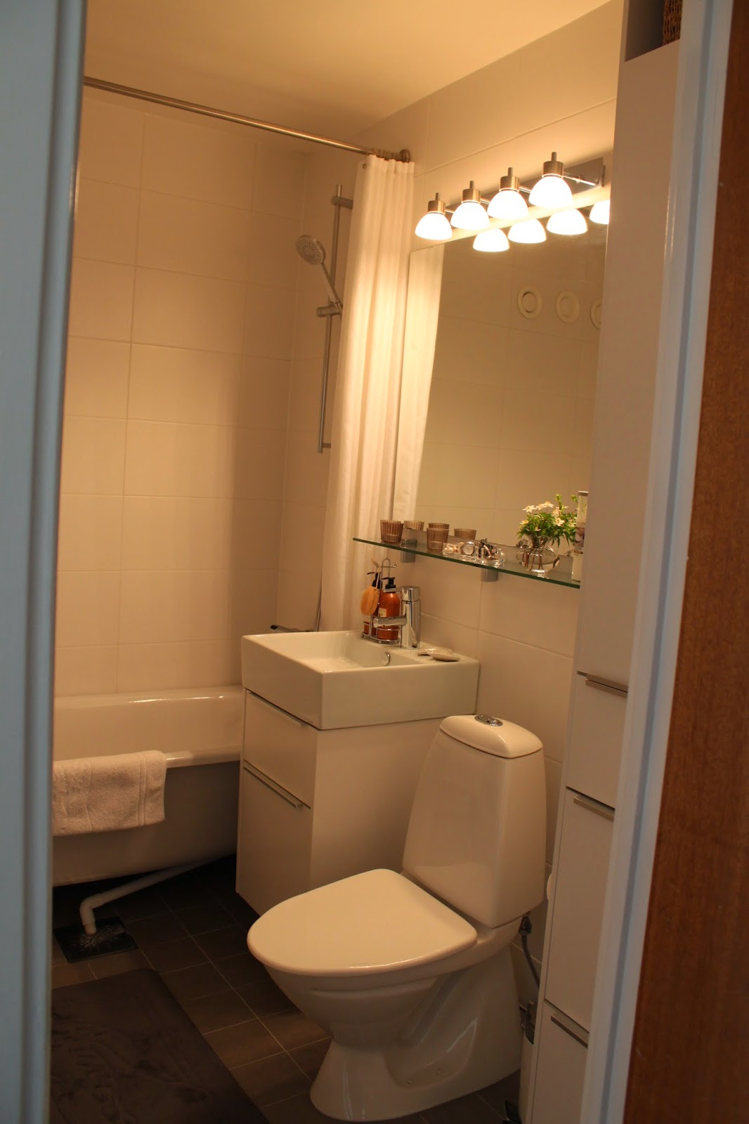 Släng dig i väggen, Ernst! Mitt renoverade badrum