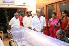K Balachander's Death Ceremony photos,Funeral Pictures Videos Tv Telecast