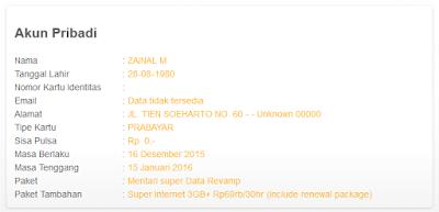 Registrasi Ulang Kartu Perdana Indosat