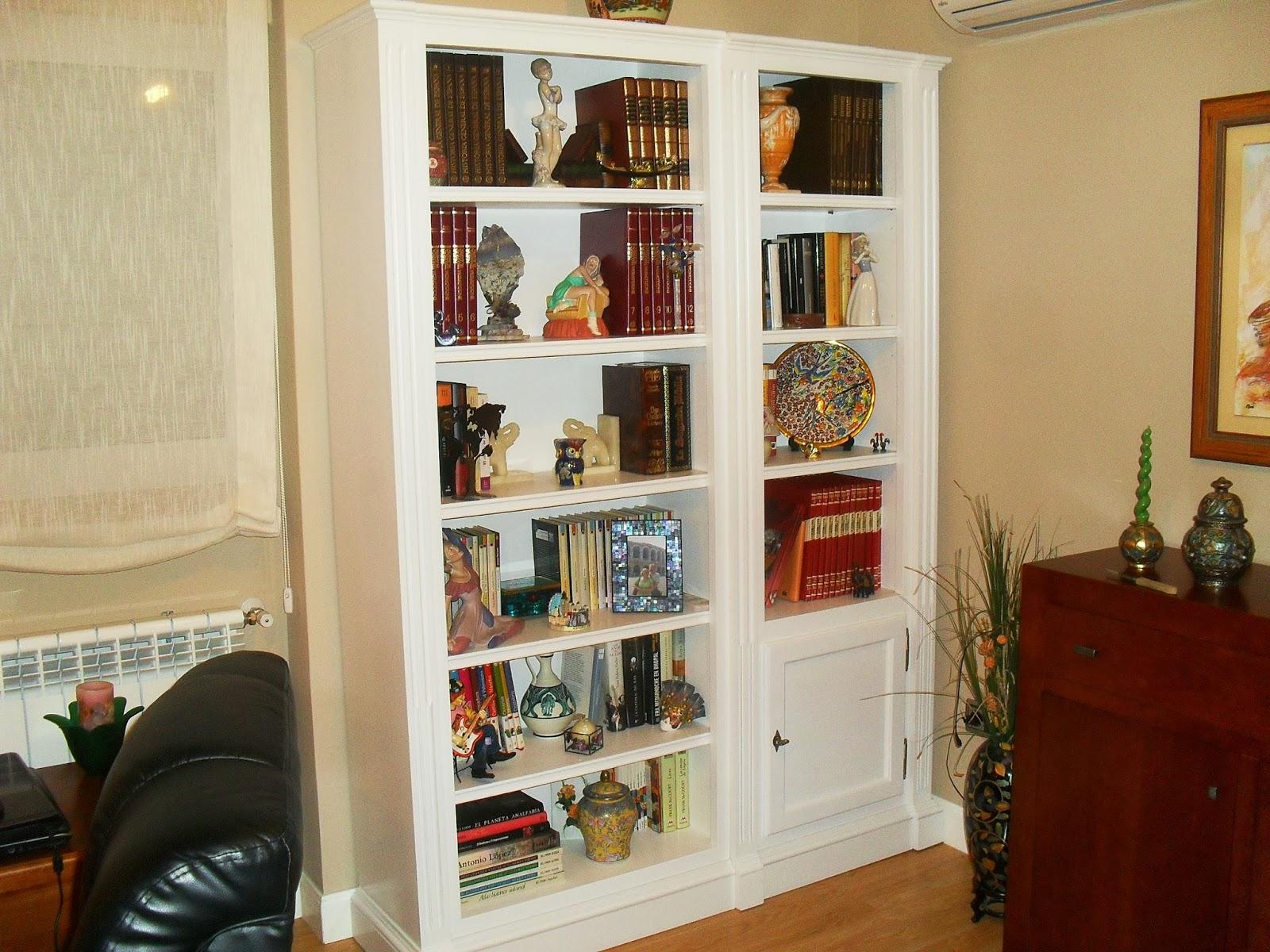 Librerias a medida madrid librerias lacadas de calidad - Librerias lacadas ...